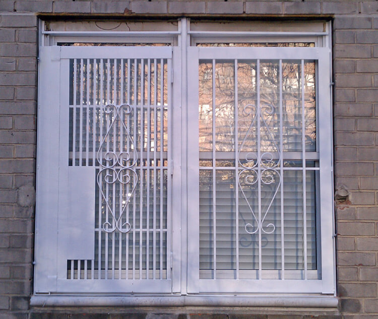 Custom Security Window Gates And Window Bars In Nyc