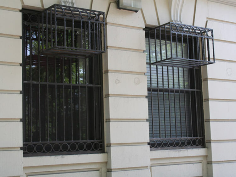 Custom Security Window Gates And Window Bars in NYC